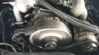 1 er démarage moteur Porsche 964 immobilisée depuis deux ans