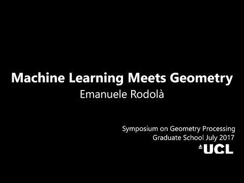 Machine Learning Meets Geometry