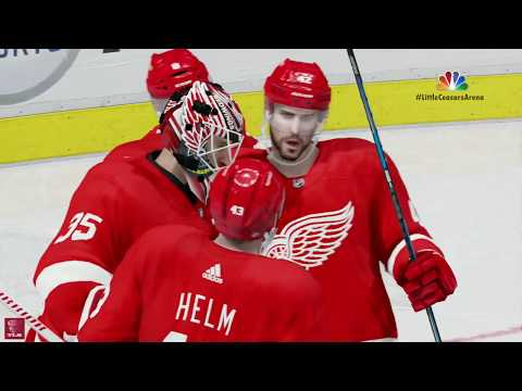 NHL 18: Red Wings vs Bruins At Little Ceasars Arena