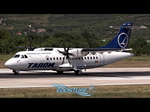 Tarom - ATR-42-500 YR-ATD - Takeoff from Split Airport LDSP/SPU