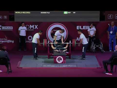 Men's Up to 65kg | Mexico City 2017 World Para Powerlifting Championships