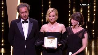 Diane Kruger (Prix d'Interprétation Féminine) rend hommage aux victimes du terrorisme