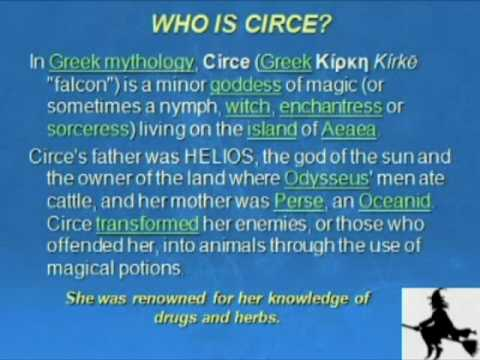 WHO IS CIRCE? The Captain of a Starship OR a Pagan Church