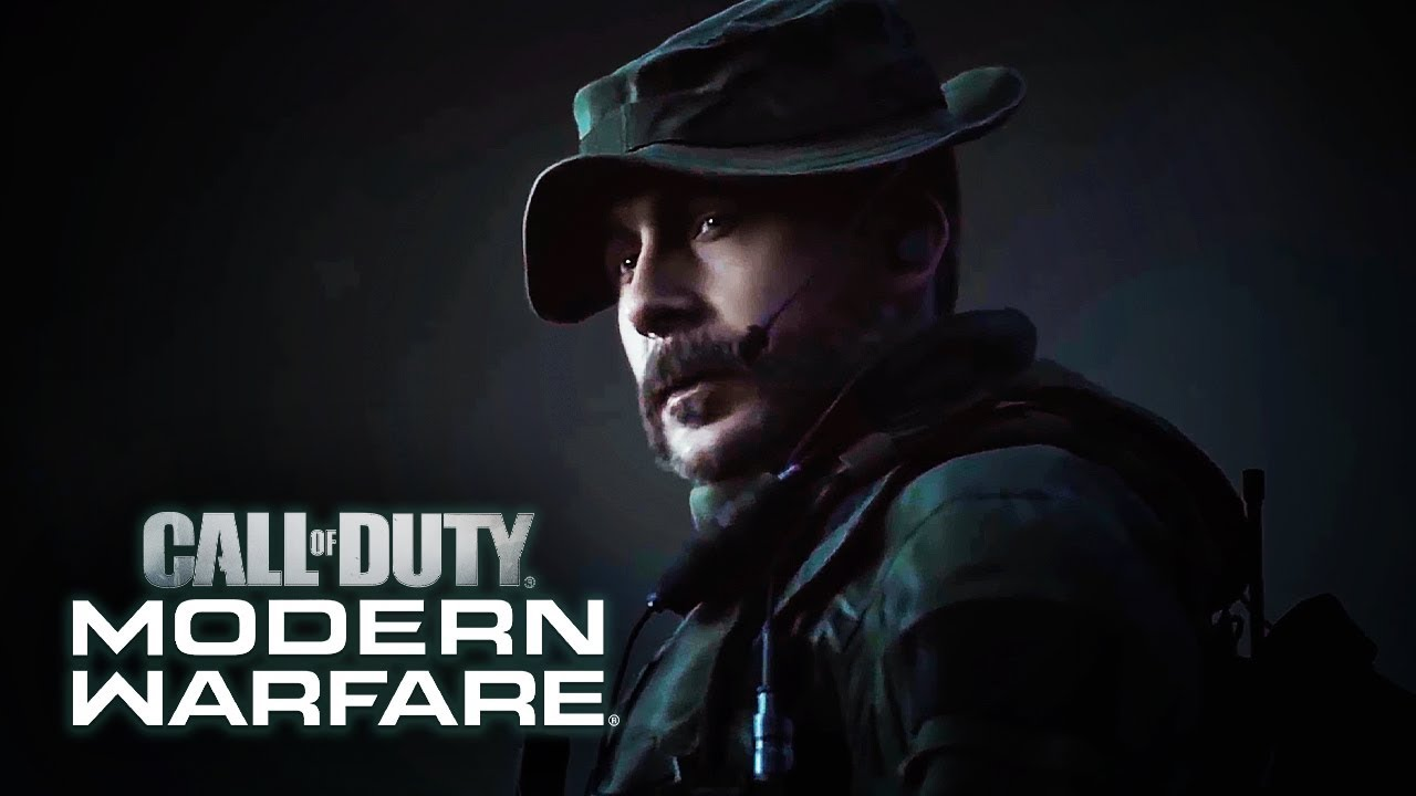 Call Of Duty Modern Warfare Official Becoming Captain Price