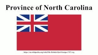 Province of North Carolina