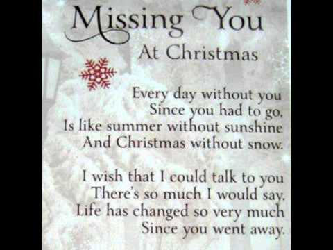 miss you most at christmas time instrumental