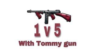 Low recoil weapon???tommy gun!!
