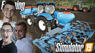 "Siew Soi & Talerzowanie ✔ Farming Simulator 19 MP ""od Zera do Farmera"" #34 ✔ MafiaSolecTeam"