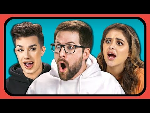 YouTubers React To Top 15 YouTube Channels Over Time