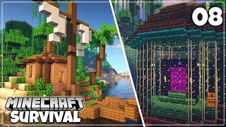 Bastion Remnants and Nether Portal Design! - Minecraft 1.16 Survival Let's Play