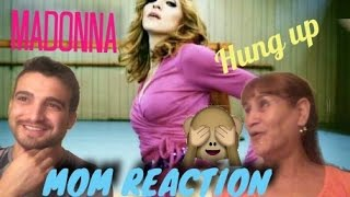 Madonna - Hung Up (Official Music Video) (MOM REACTION)