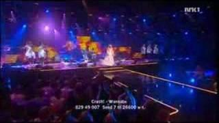 Christine Guldbrandsen - Alvedansen feat Dansekjolen (Norsk Melodi Grand Prix 2007)