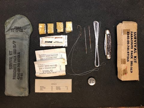 USAF Parachute Pack Survival Kit Review