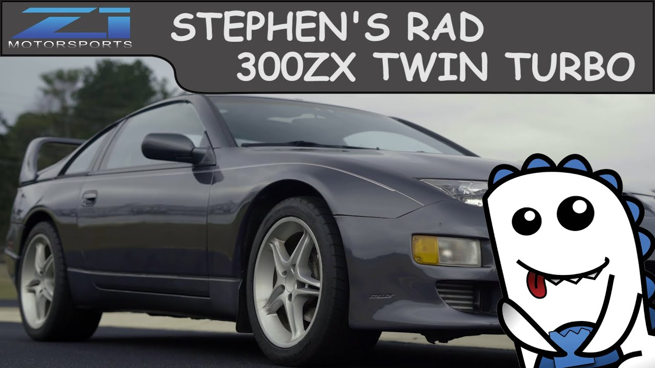 Stephen's Rad TT 300zx Gets The Z1 500HP Package