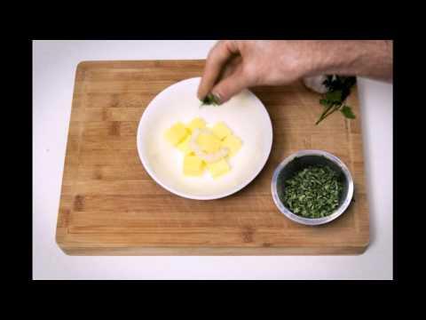 Herb Hack #1 Homemade Garlic & Parsley Bread