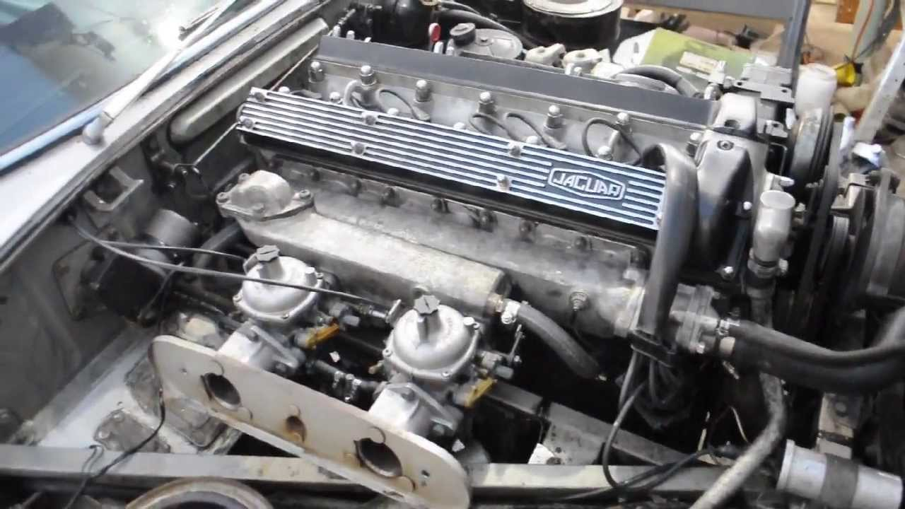 Watch on 1969 jaguar xke
