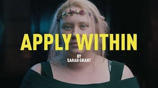 Sarah Grant - Apply Within