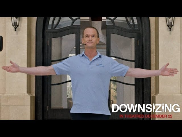 Downsizing 2017 Sales Pitch Clip Paramount Pictures