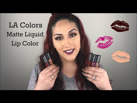 la-colors-matte-liquid-lip-color-|-review-&-lip-swatches