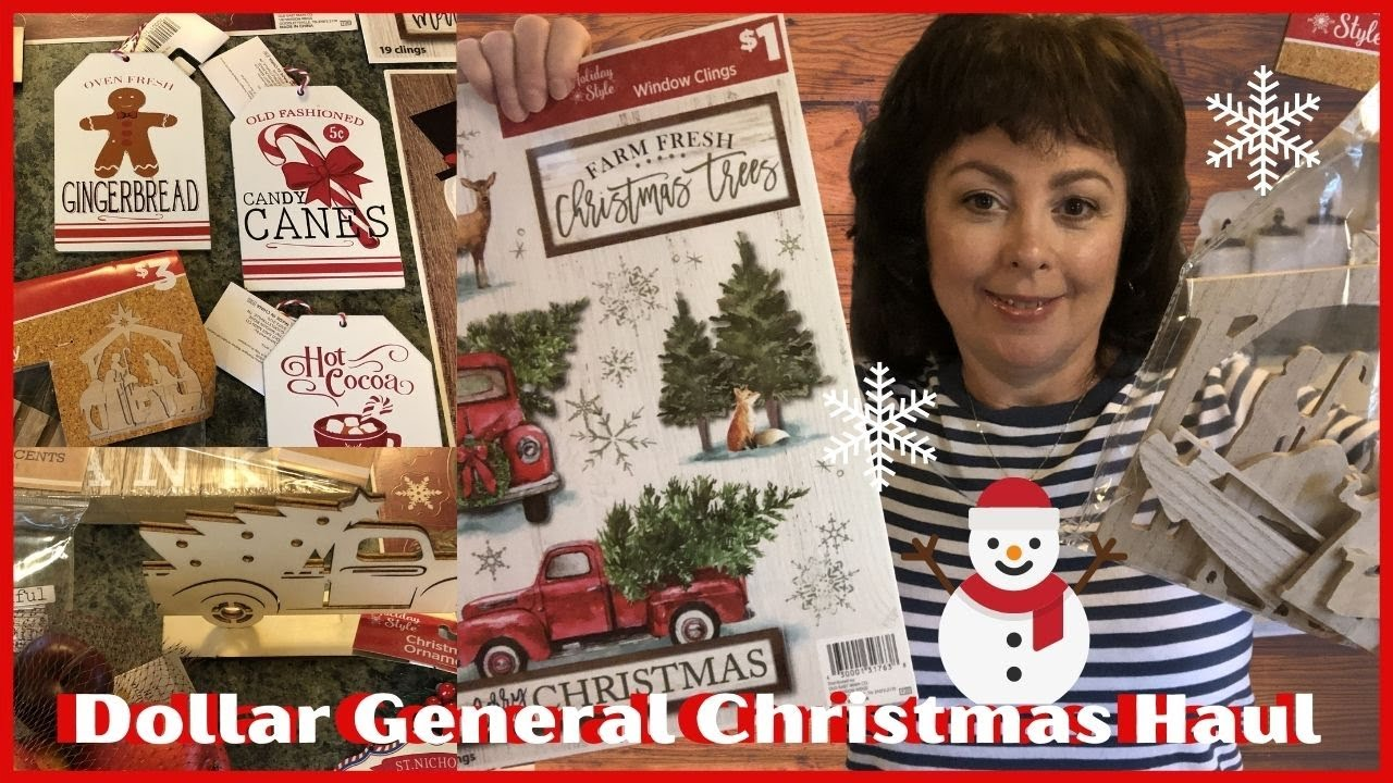 Wow Christmas 2020 Youtube Dollar General Christmas Haul 2020 Wow, Awesome New Finds