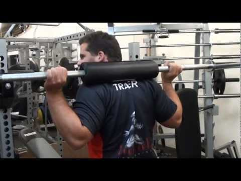 Barbell Squat Pad - Home Gym Exercises - BSP Equipment From Force USA