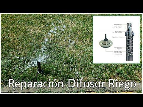 CÓMO REPARAR  UN DIFUSOR / ASPERSOR DE RIEGO thumbnail