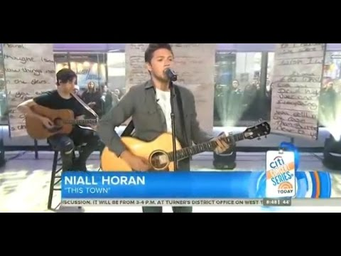 Niall Horan - This Town live on The Today Show