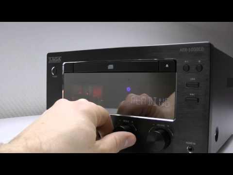 TAGA Harmony HTR-1000CD - Hybrid Stereo CD-Receiver