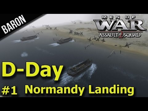 MOWAS 2 - D-Day Allied Beach Invasion of Normandy P.1 - Men of War Assault Squad 2