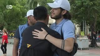Voluntarios a la espera de cumplir su misión en Venezuela