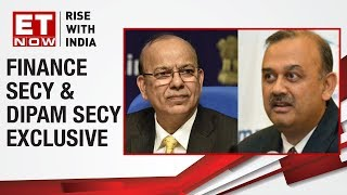 Finance Secy Ajay Narayan Jha & DIPAM Secy Atanu Chakraborty in an exclusive chat | Budget 2019