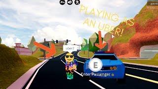 Spielen als Uber-Fahrer ROBLOX ( Roblox Jailbreak)