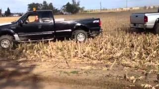Hemi vs power stroke tug o war fail!