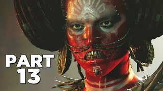 SHADOW OF THE TOMB RAIDER Walkthrough Gameplay Part 13 - SERPENT (PS4 PRO)