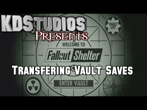 How To Transfer Fallout Shelter Saves On PC & Android  - Backup Saves And Online Storage