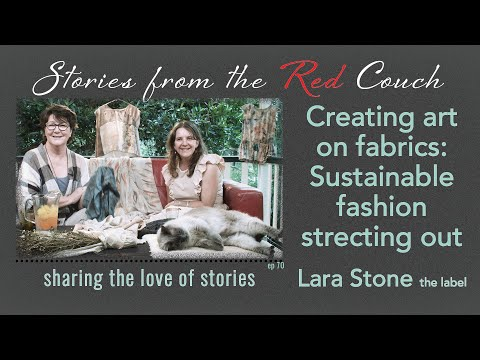 Stories with Lara Stone [British Vogue attracted to sustainable fashion label ] Ep70  (2018)