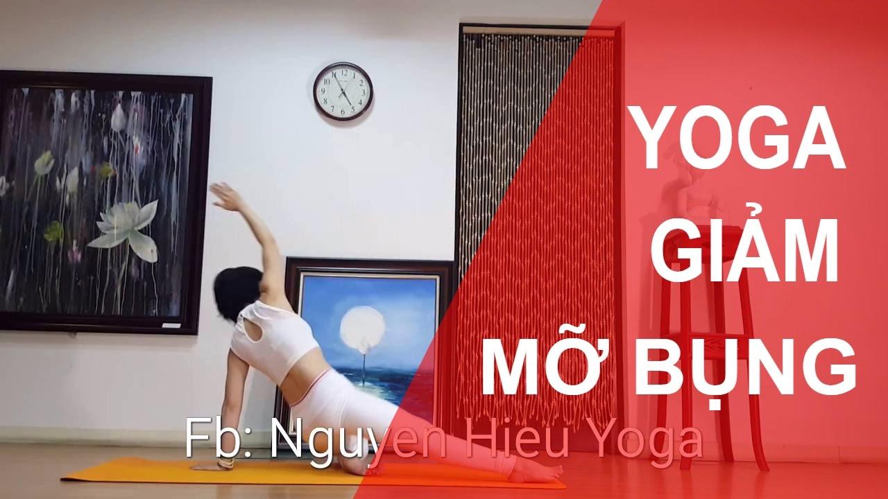 Yoga tại nhà - Bài tập GIẢM MỠ BỤNG NHANH, THU GỌN VÒNG EO chỉ với 5 phút mỗi ngày part 2