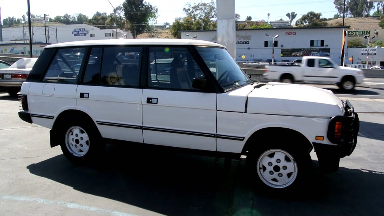 1993 Land Rover Range Rover County Lwb Classic 2 Owner