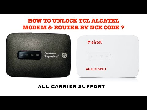 How to Unlock Airtel 4G Hotspot MW40CJ...