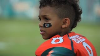 Repeat youtube video Miami Football Team Makes a Dream Come True For Carter Hucks (Make-A-Wish)