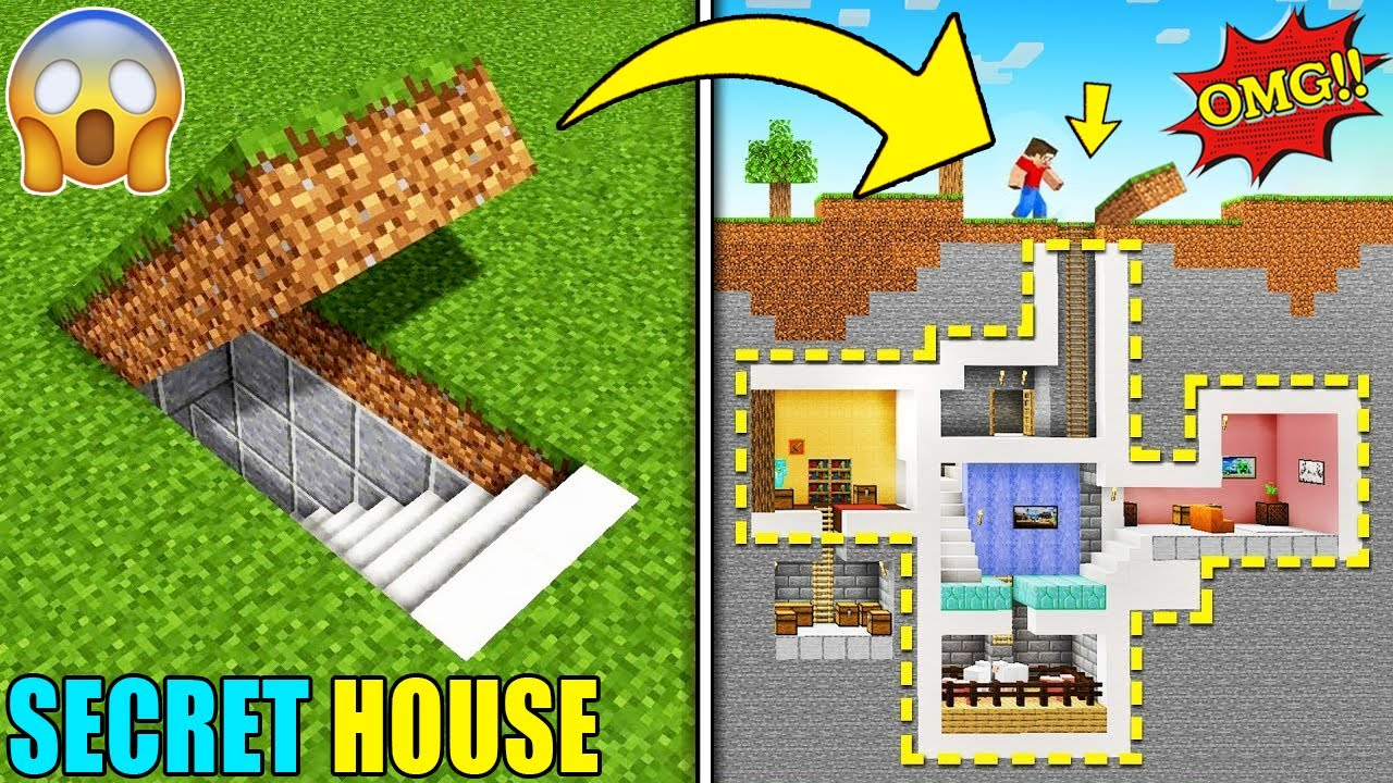 OUR NEW SECRET HOUSE | MINECRAFT GAMEPLAY#11 | HS GAMING