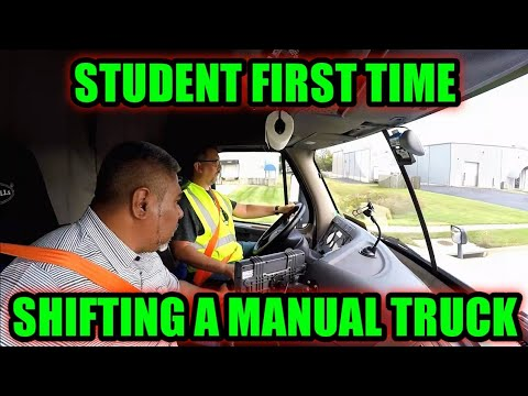 Truck Driving Student