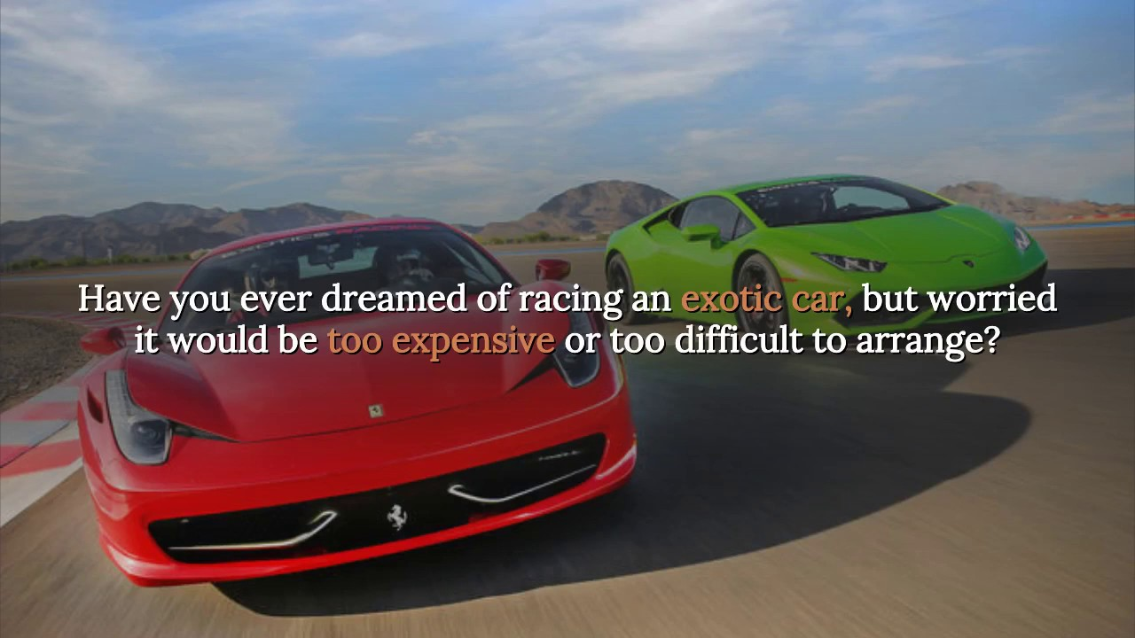 Exotic Car Driving Experience Package Las Vegas Drive And Race