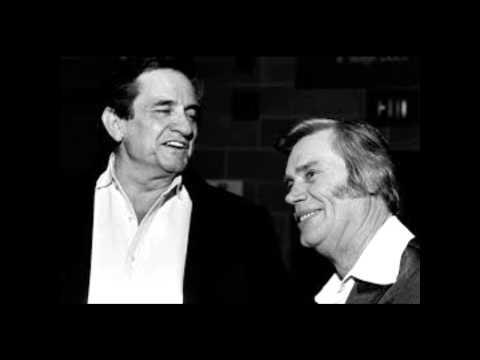 Johnny Cash & George Jones - I Got Stripes