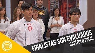 Los finalistas son evaluados   MasterChef Chile 3   Capítulo final