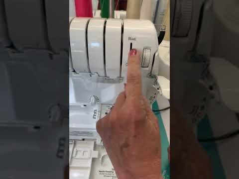 Knobs And Buttons On The Serger... Explained!