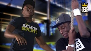 KSI and TBJZL's INSANE Obstacle Course | Rule'm Sports