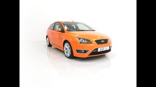A Striking Ford Focus ST225 ST-3 with 22,107 Miles, One Owner and Full Ford History - £12,995