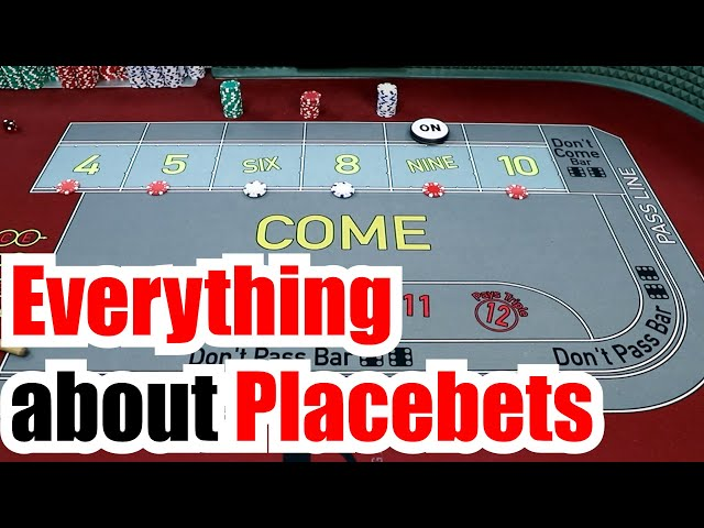 ALL ABOUT PLACE BETS - How to Bet, Benefits, & Pay Outs [Craps Basics #1] - Short