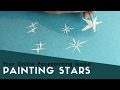 Free Online Facepainting lesson 6 painting Stars